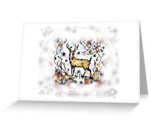 Deer spirit Greeting Card