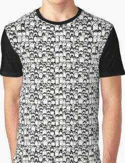 Penguins everywhere Graphic T-Shirt