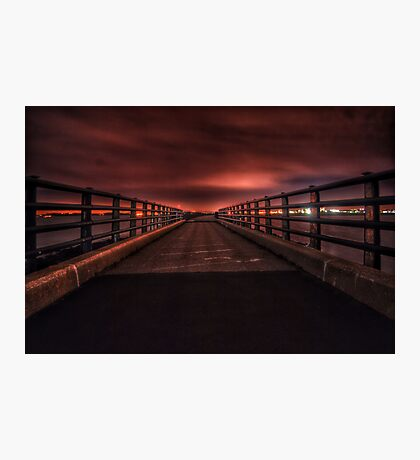 castle island, harbor walk, boston MA  Photographic Print