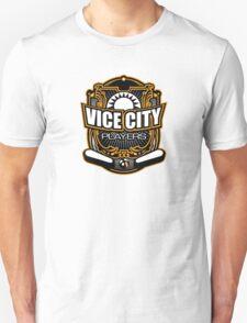 Vice City Players - Orange - large logo Unisex T-Shirt