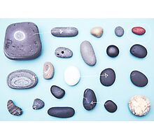 Paired pebbles... Photographic Print