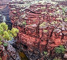 Joffre Gorge - Karijini National Park by Austin Dean