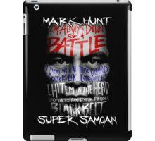 Mark Hunt iPad Case/Skin