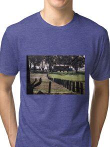 Sunrise Fenceline Tri-blend T-Shirt