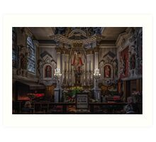 Chapel of Our Lady of Refuge Art Print