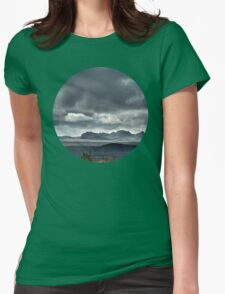 On a hike Womens Fitted T-Shirt