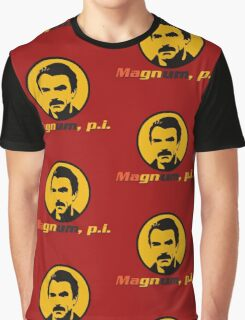 MAGNUM P.I. TV SERIES Graphic T-Shirt