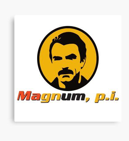 MAGNUM P.I. TV SERIES Canvas Print