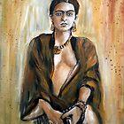 Frieda Kahlo by olivia-art