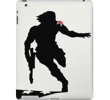 The Winter Solider Silhouette iPad Case/Skin