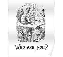 Who are you? Poster