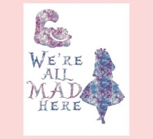 Pink and purple all mad Kids Tee