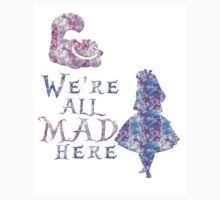 Pink and purple all mad Baby Tee