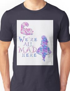 Pink and purple all mad Unisex T-Shirt