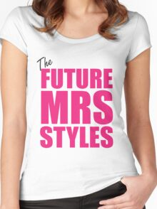 Mrs Direction Women's Fitted Scoop T-Shirt