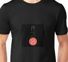 Adele 19, 21, 25 Unisex T-Shirt