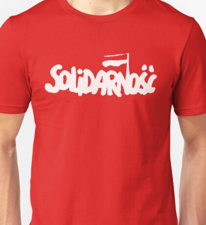 SOLIDARNOSC / SOLIDARITY FROM POLAND (2) Unisex T-Shirt