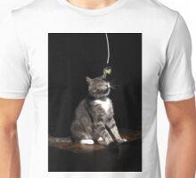 Ticklish cat Unisex T-Shirt