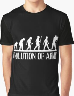 evolution of army Graphic T-Shirt