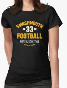 SMASHMOUTH FOOTBALL Womens Fitted T-Shirt