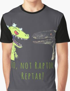Raptor and Reptar Graphic T-Shirt