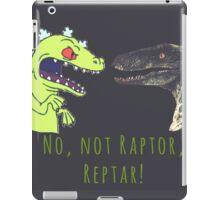 Raptor and Reptar iPad Case/Skin