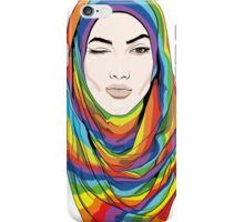 Rainbow Hijab iPhone Case/Skin