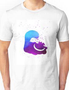 Purple splatter Cheshire Cat Unisex T-Shirt