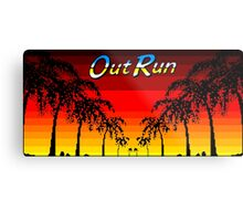 OUT RUN - LAST WAVE Metal Print