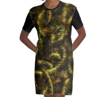 Visions of Old Gods Graphic T-Shirt Dress
