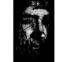 Dark Face  Photographic Print