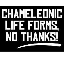 Chameleonic life forms - Dark Photographic Print