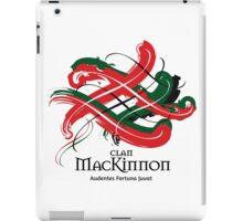 Clan Mackinnon - Prefer your gift on Black/White tell us at info@tangledtartan.com  iPad Case/Skin