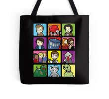 Doctor Squares Tote Bag