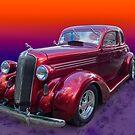 Red Dodge by barkeypf