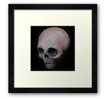 Bones X Framed Print