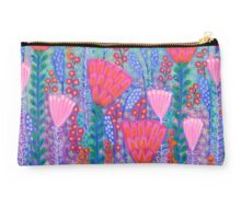 Flowers and Butterflies in Spring Time Studio Pouch
