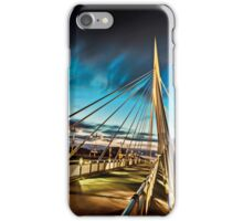 Watching Clouds Roll By iPhone Case/Skin