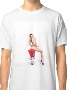 4th of July Modern Pinup Classic T-Shirt