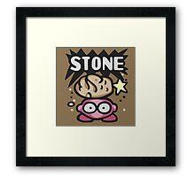 Kirby Stone Framed Print