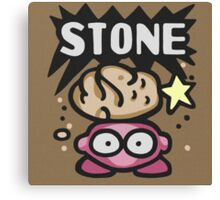 Kirby Stone Canvas Print
