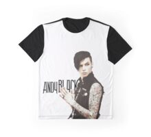 Andy Black Graphic T-Shirt
