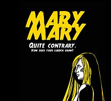 Mary, Mary, Quite Contrary (Panel 2 of 3) by marv42