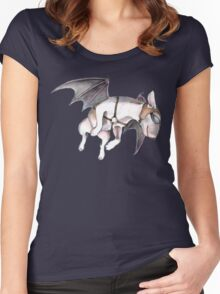 If Pigs Could Fly  Women's Fitted Scoop T-Shirt