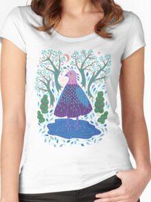 Bird Bath Women's Fitted Scoop T-Shirt