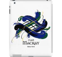 Clan Mackay - Prefer your gift on Black/White tell us at info@tangledtartan.com  iPad Case/Skin