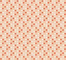 soft dots in coral by silviarossana