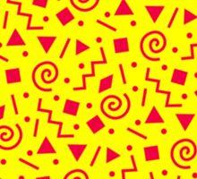 90s pattern Sticker