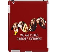 Someone's Experiment || Orphan Black iPad Case/Skin