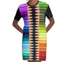 Be creative Graphic T-Shirt Dress